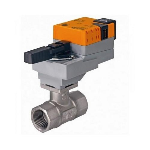 Запорно-регулирующая арматура с электроприводами